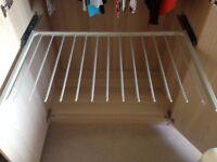 Ikea wardrobe sliding trouser rail