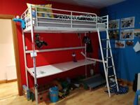 IKEA kids loft bed
