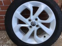Vauxhall Corsa Sting Alloy Wheel . Mint Condition good tyre lots of tread