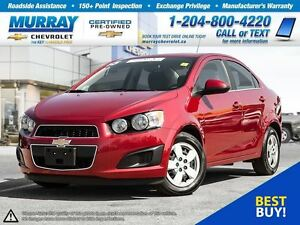 2015 Chevrolet Sonic LT Auto *Remote Start, Heated Seats, OnStar