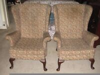Parker Knoll Model PK720 Armchairs x 2 - additional items available