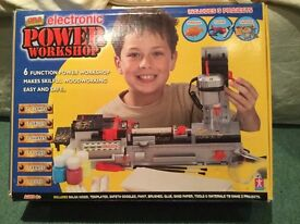 Kids Electronic Power Workshop DIY Toy Set (Age 8years +)