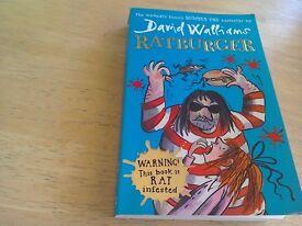 """Ratburger"" by David Walliams"