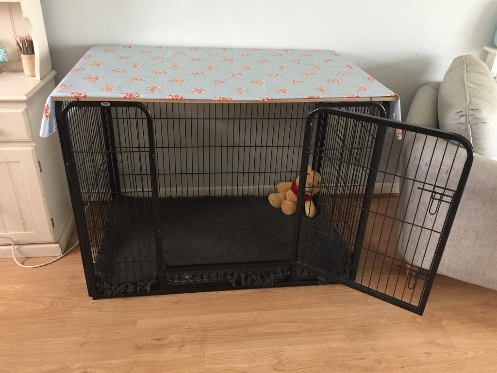Paw Gear heavy duty dog crate for large dog