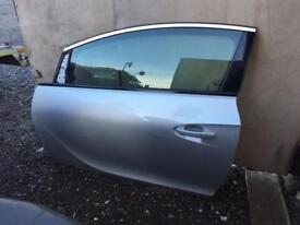 2014 Vauxhall Astra gtc doors from 2 door both sides available complete