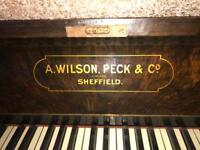 A.Wilson,peck& Co. Grand piano