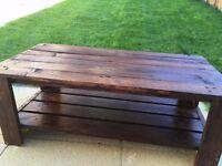 Handmade rustic Coffee Table - Pallet coffee table