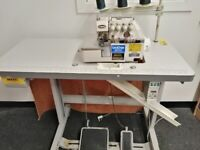Brother industrial overlock machine in good condition used