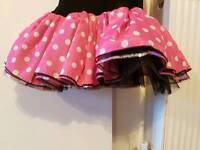 Mini mouse dress NEW free pair of pink size c8 shoes