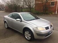 RENAULT MEGANE CONVERTIBLE LEATHER SEATS