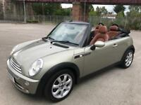 Stunning 2008 08 Mini Cooper Sidewalk Convertible **84000+Full History+Full Leather+Mega Spec!**