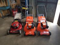 Selection Of Lawnmowers