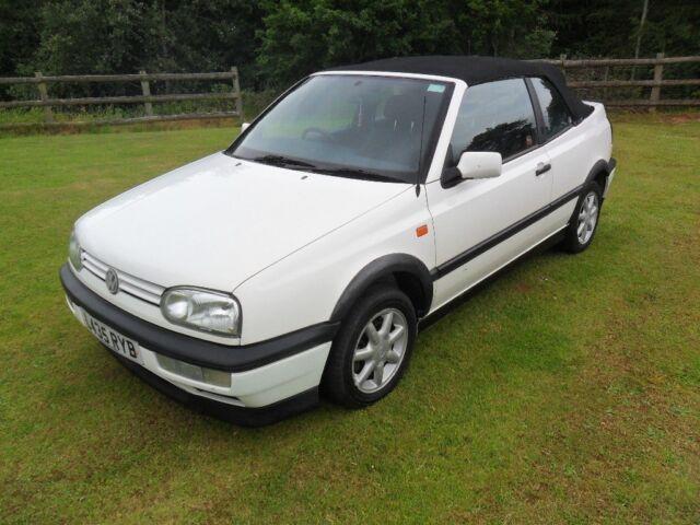 Vw Golf Convertible Cabrio Avantgarde 1994 New Mot In Usk Monmouthshire Gumtree