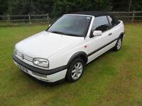 VW GOLF CONVERTIBLE/CABRIO AVANTGARDE - 1994 - NEW MOT