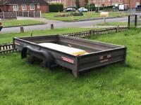Wessex trailer twin wheel
