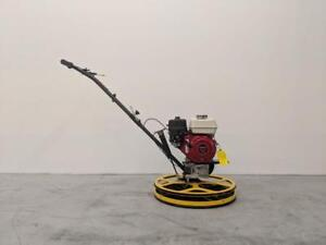 HOC PME-S60 24 INCH POWER TROWEL HONDA GX160 5.5 HP + FREE BLADES + FLOAT PAN + 3 YEAR WARRANTY + FREE SHIPPING
