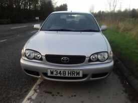 toyota corolla gs 1.6 genuine 2 owner car f.s.h. amazing example