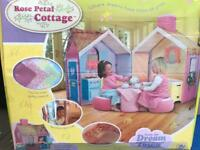 Dream Town. Rose Petal Cottage. Play House tent