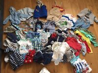 Bundle of Baby Boy Clothes - 6-9 months