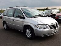 2006 Chrysler voyager automatic diesel only 65000 miles, top spec motd october 2017