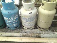 4 x Calor Gas Bottles