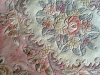 Floral Chinese rug