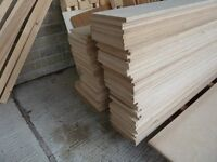 6 Pieces of NEW 18mm B/BB Grade Russian Birch Plywood 8ft x 8in (2440mm x 200mm)
