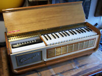 Vintage FARFISA PIANORGAN 1, retro organ/piano/electric accordion, 1960's made in Italy