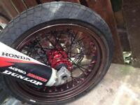 Supermoto wheels Honda crf