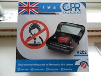 NEW IN BOX , CALLER BLOCKER , STOPS UNWANTED CALLS ,