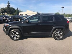 2015 Jeep Cherokee Trailhawk 4X4 LEATHER