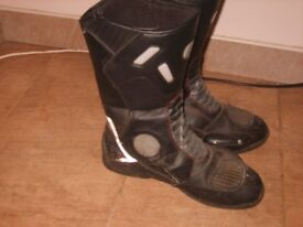 motorbike jacket and boots for sale