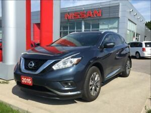 2015 Nissan Murano SL AWD, navigation, leather, remote start