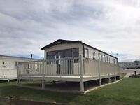 Sea view luxury caravan for sale, Berwick holiday park, Near Haggerston & Eyemouth