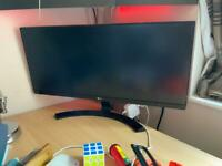 "29"" LG Ultrawide Monitor HD"