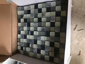 Wickes Glass Mosaico Mosaic Tile boxes