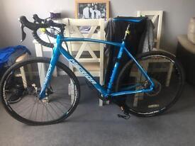 Road bike. Merida cyclocross 500 double disc