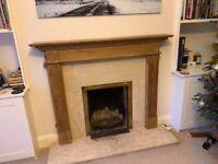 Victorian Pine Fireplace Surround