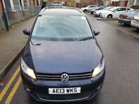 Volkswagen Touran 1.6 TDI SE DSG 5dr Low Miles,Bluetooth,PCO Ready