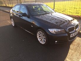 BMW 3 Series 2.0 318i SE 4dr Black 2010 ~57000 mileage - Excellent Condition
