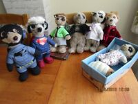 Meerkats x 7 Compare the Market Meerkats Superman Batman