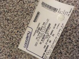 Future Tickets