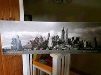 New York canvass art