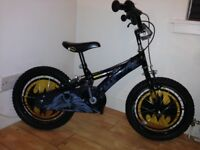 "BATMAN BIKE 16"" great condition cost £125 new Halfords"