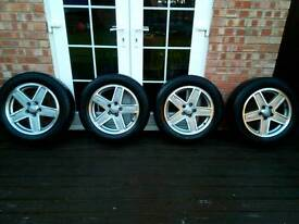 Jeep patriot alloy wheels with tyres