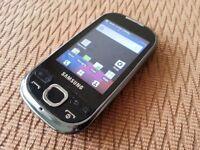 Samsung Galaxy Europa GT-i5500 Mobile Phone On Three Network