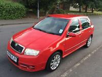 2006 56 Skoda Fabia vRS 1.9tdi 1 lady owner full history 95k immaculate. PX CARDS ACCEPTED