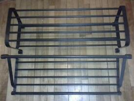 Ikea shoe rack & coat shelf/rack
