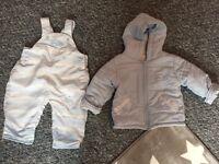 Kris x kids dungarees and coat