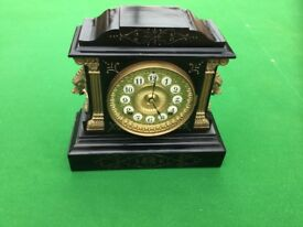 Beautiful Antique Mantle Clock. Made in 1882 by Ansonia Clock Company. New York. USA